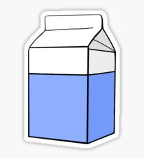 milk carton drawing stickers redbubble rh redbubble com simple milk carton drawing simple milk carton drawing