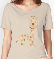 Baby giraffe Women's Relaxed Fit T-Shirt