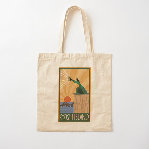 Kyoshi Island Print w/ the Unagi Cotton Tote Bag