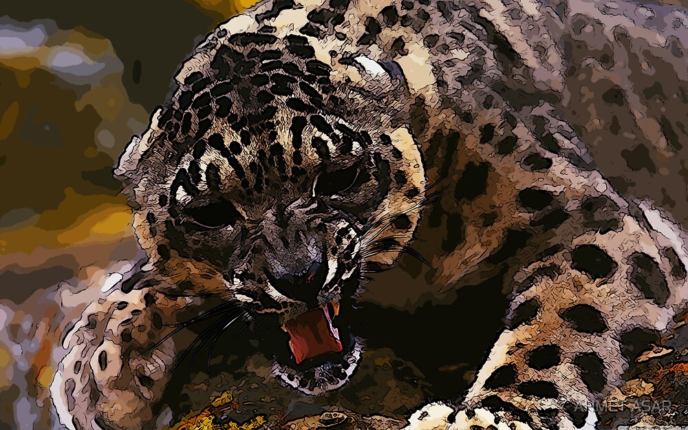 angry cheetah by MotionAge Media