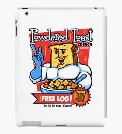 Powdered Toast Crunch iPad Case/Skin