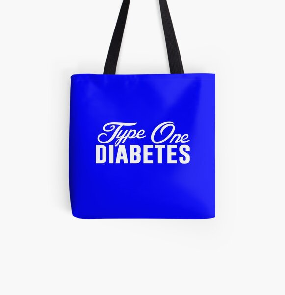 Dia-Be-Tees Baggage T1D Travel Tote bag