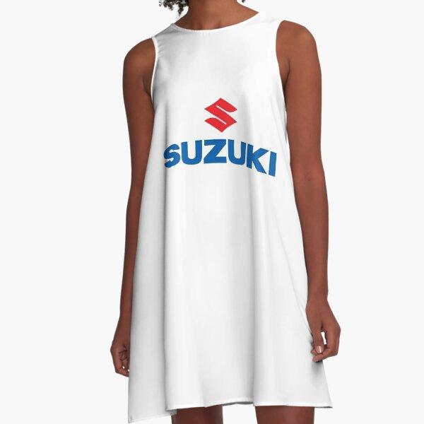 Suzuki Logo A-Line Dress