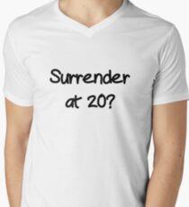 Surrender? Men's V-Neck T-Shirt