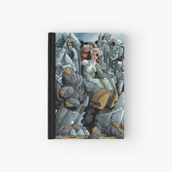 Mech Woman Hardcover Journal