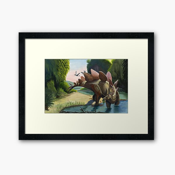 After the ambush Framed Art Print