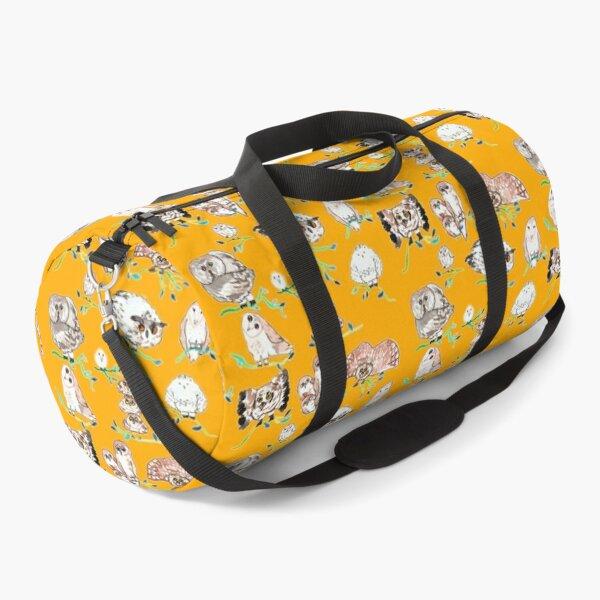 Odd-looking owls Duffle Bag