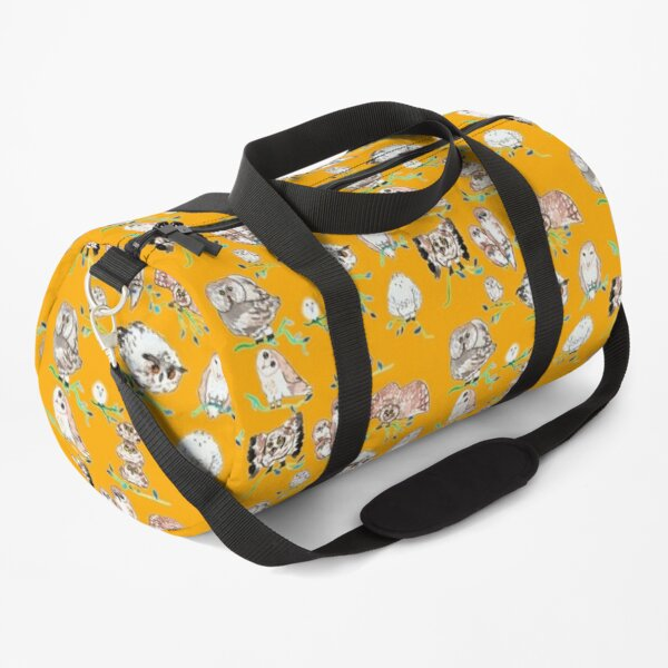 Odd-looking owls Duffle Bag