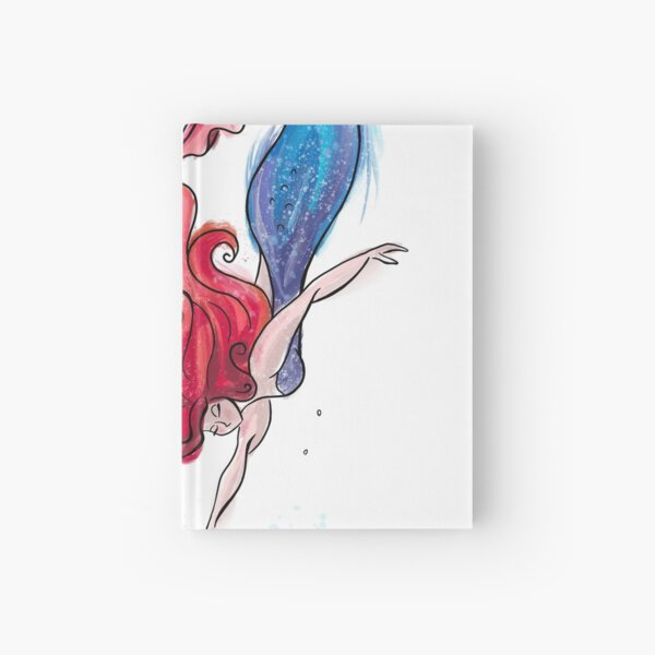 Watercolour Mermaid Hardcover Journal