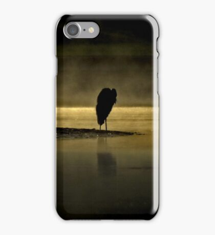 Herons in the Mist iPhone Case/Skin