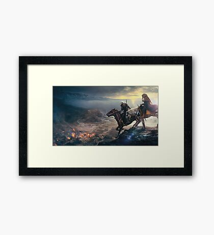 The last wish Framed Print