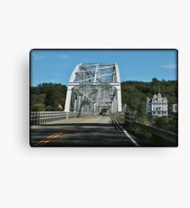Traveling Connecticut Canvas Print