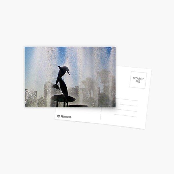 Dolphin Fountain II Postcard