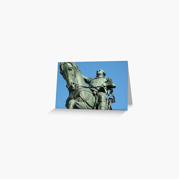 Statue in New York City Greeting Card