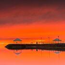 Wow What a Sunrise - Wynnum Qld Australia by Beth  Wode