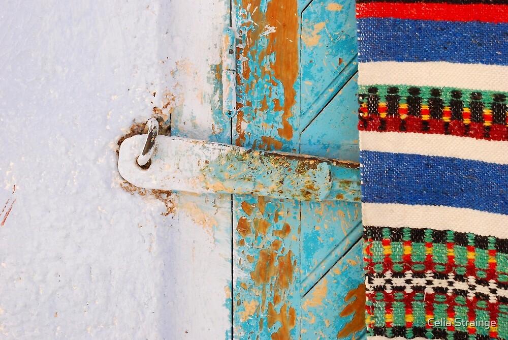 Wall, Lock, Door, Rug... by Celia Strainge