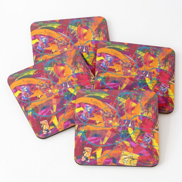 Pieces of My Heart Coasters (Set of 4)