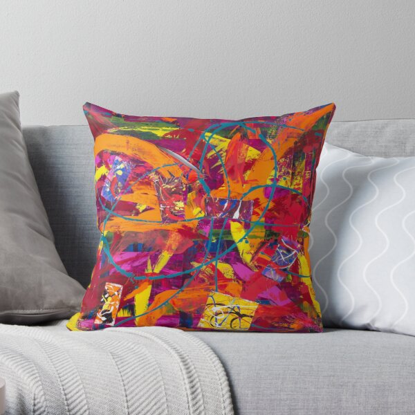 Pieces of My Heart Throw Pillow