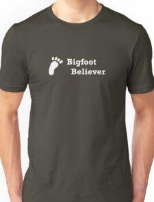Bigfoot Believer (white text) T-Shirt