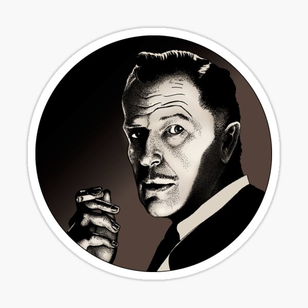 Vincent Price Sticker