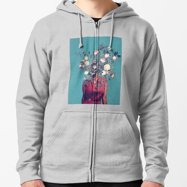 The First Noon I dreamt of You Zipped Hoodie