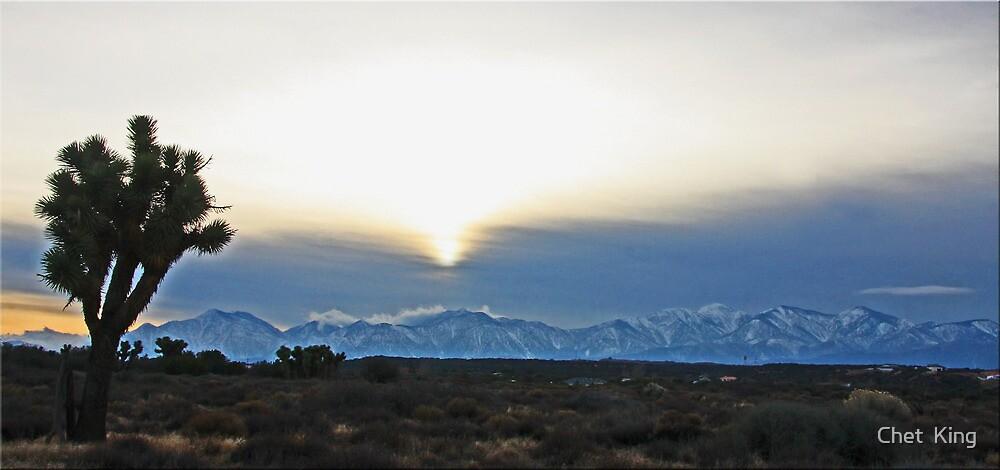 High Desert View by Chet  King