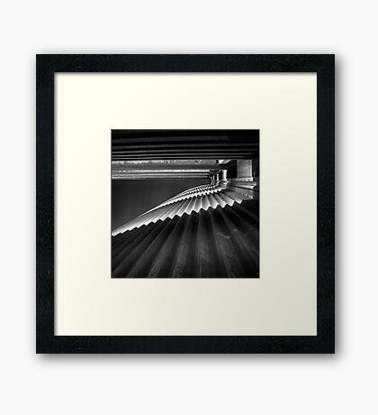 corrugated Framed Print