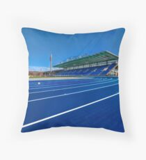 Until The Race Is Run Throw Pillow