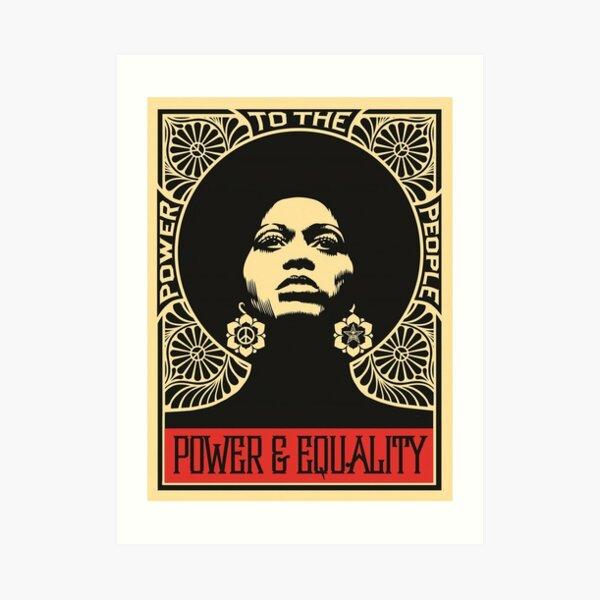 Shepard Power And Equality Art Print
