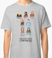 Doctor Who |Companions (alternate version) Classic T-Shirt