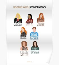 Doctor Who |Companions (alternate version) Poster
