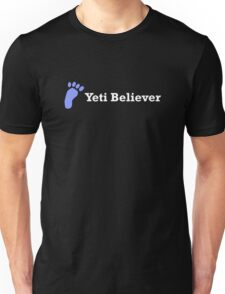 Yeti Believer (white text) T-Shirt