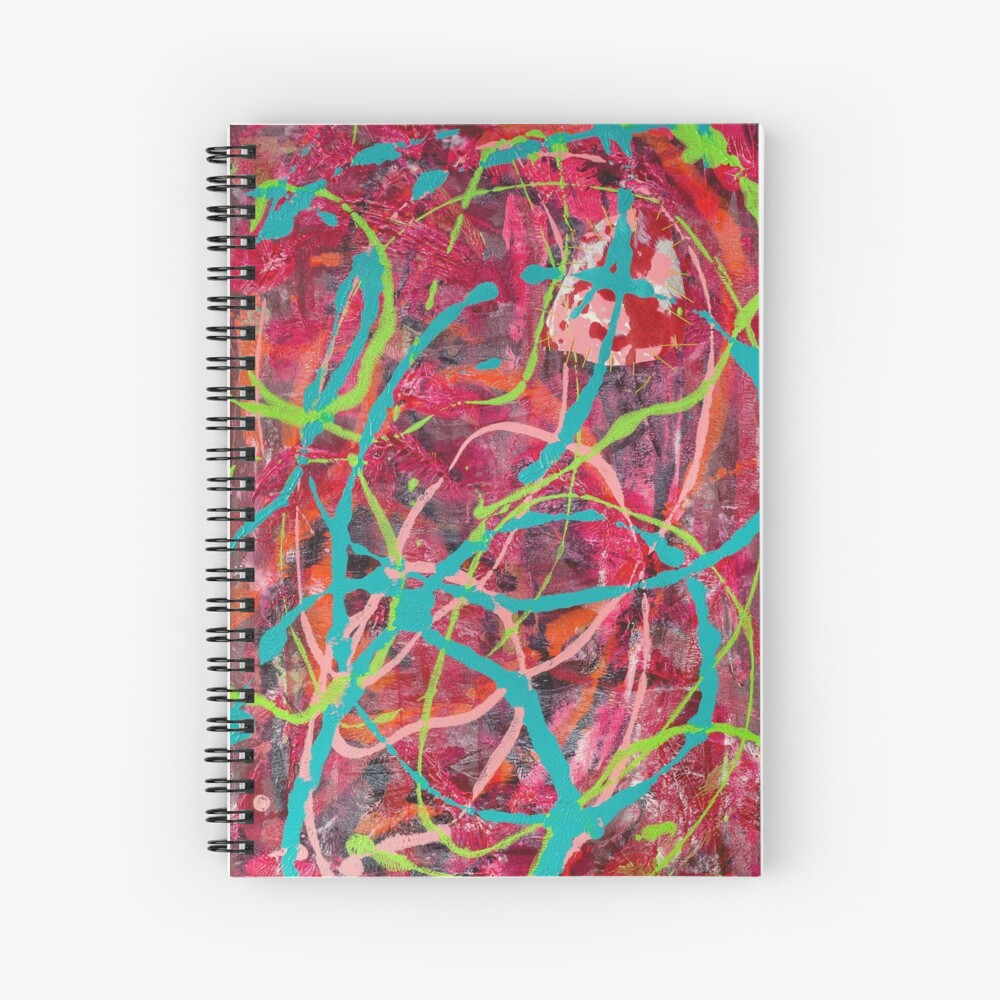 The Same but Different: Falling Slowly (L) Spiral Notebook