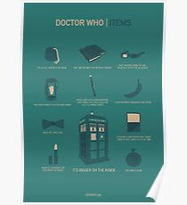 Doctor Who   Items Poster