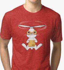 Postal Bunny Tri-blend T-Shirt