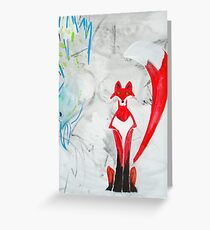 Trickster 2 Greeting Card