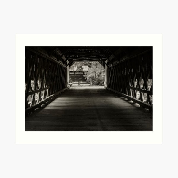 Uhlerstown Covered Bridge III Art Print