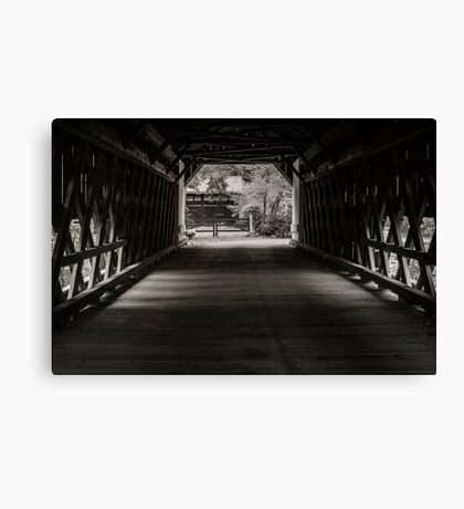 Uhlerstown Covered Bridge III Canvas Print