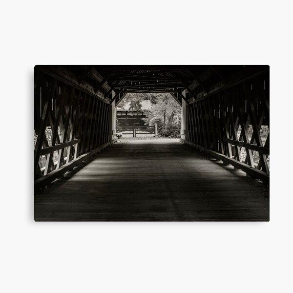 Uhlerstown Covered Bridge III Canvas Print