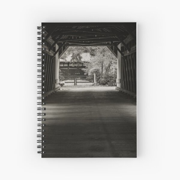 Uhlerstown Covered Bridge III Spiral Notebook