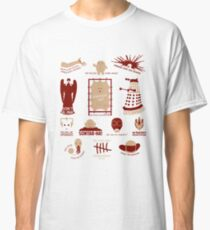 Doctor Who | Aliens & Villains (alternate version) Classic T-Shirt