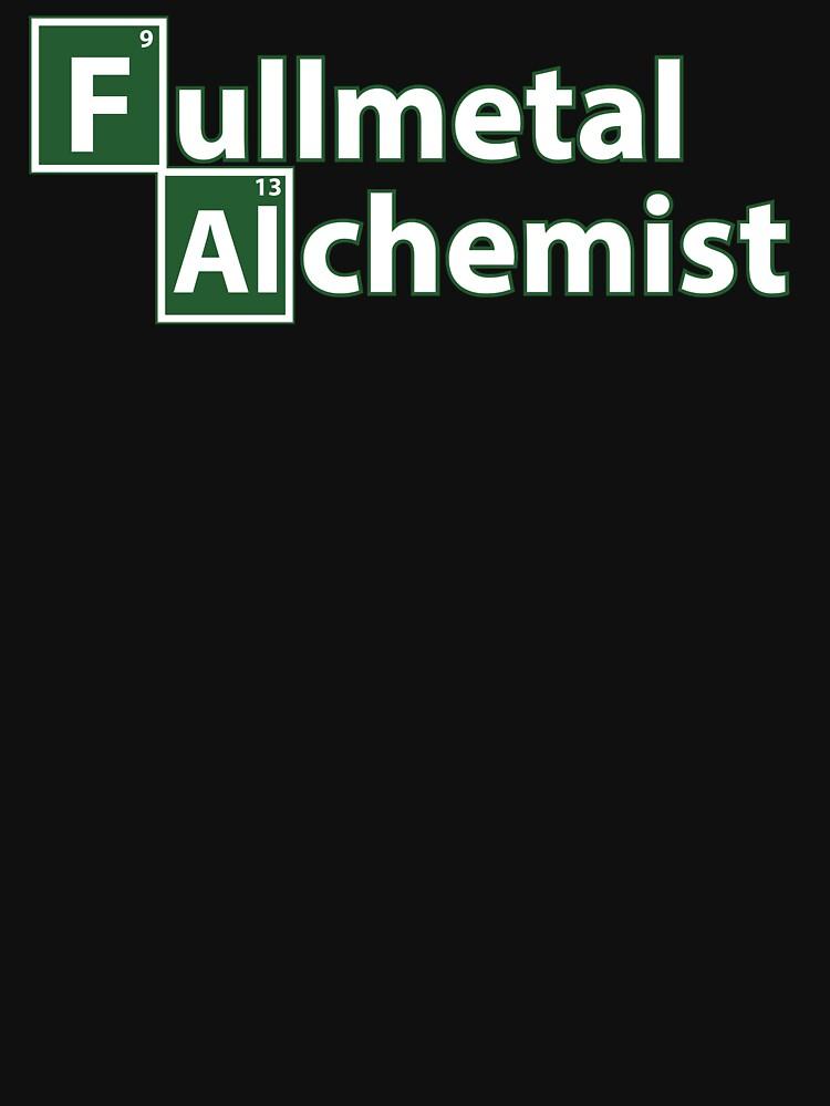 fullmetal alchemist breaking bad  | Unisex T-Shirt
