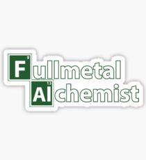 fullmetal alchemist breaking bad  Sticker