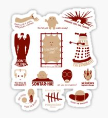 Doctor Who | Aliens & Villains Sticker