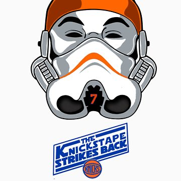 The KnicksTape Strikes Back!! (White) by mdoydora