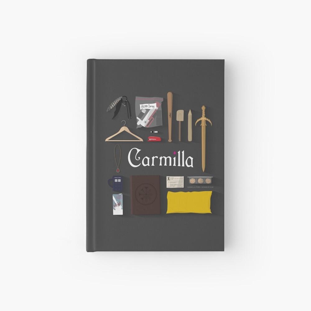 Artículos de Carmilla Cuaderno de tapa dura