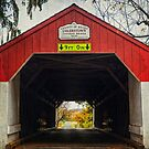 Uhlerstown Covered Bridge IV by Debra Fedchin