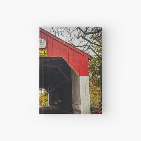 Uhlerstown Covered Bridge IV Hardcover Journal