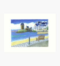 Tour Solidor - St. Malo, France Art Print