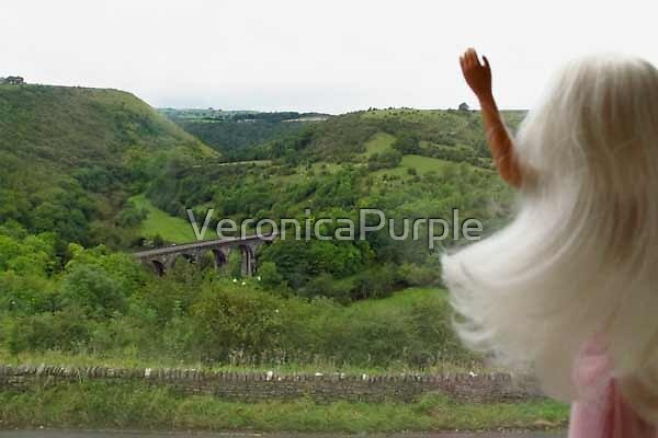Hi Headstone Viaduct! by VeronicaPurple